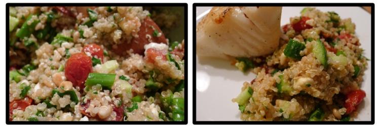 Tabbouleh-ish Quinoa Salad